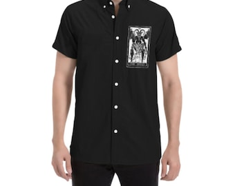 The Devil Button Up Short Sleeve