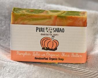 Pumpkin Latte Natural Handmade Holiday Soap
