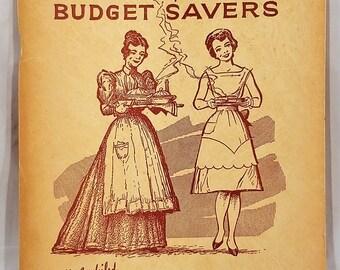 Rare Recipes and Budget Savers, Vintage Cookbook, Wichita Eagle, Home Town News, Frank Good, Vintage Recipe Booklet, Wichita Kansas