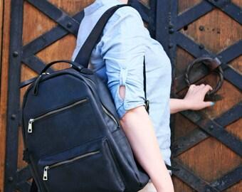 Rucksack, Rucksack aus Leder, Leder Rucksack Männer, Vintage-Leder, lederrucksack, Laptop-Rucksack, SCHULRUCKSACK, Frauen Rucksack