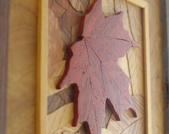 Leaf Wall Art Set of Four