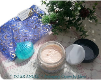 Antiaging Day cream YOUR ANGEL with Argan oil Αντιγηραντικη κρεμα ημερας Your Angel με λαδι Αργκαν  και Σαφραν