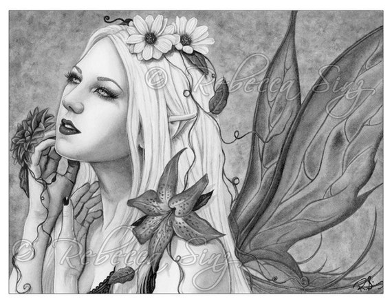 Gothic Coloring Pages For Adults : Grayscale coloring book pages printable digital download