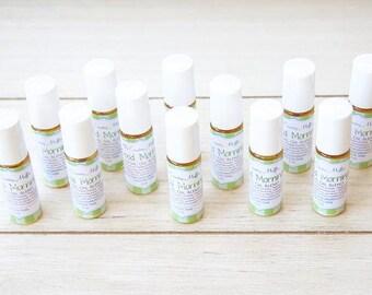 Good Morning Essential Oil Blend {5 ml or 10 ml} - Energize Oil - Citrus Mint Oil - Headache Relief Oil - Destress Oil Blend