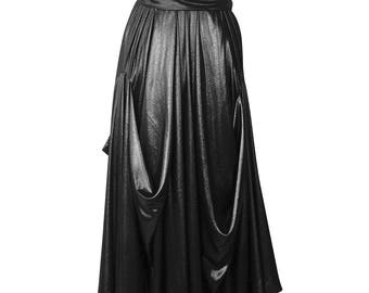 Goddess Dress In Mix Fibres / Evening Maxi Dress / Special Occasions, Wedding Guest & Bridesmaid Dress / Made In Britain