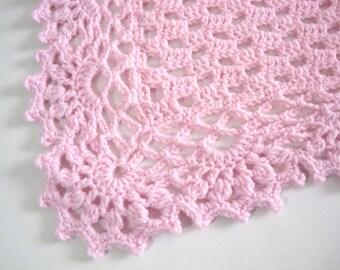 Crocheted, Baby Girl, Baby Boy, Baby Blanket, Baby Shower Gift, Newborn, Baby Afghan, Crib Size