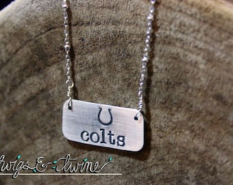 Indianapolis Colts Pendant Necklace