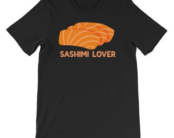 Sushi Shirts For Men Women Sashimi Lover Japanese Roll Food