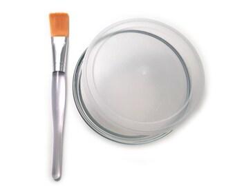 CLAY MASK KIT - Masking Set - Face Masks - Face Mask Brush - Brush and Bowl Only