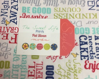 The Sweet Life Prints layer cake