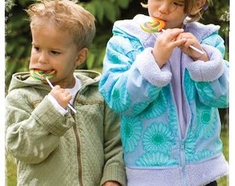 20% Off SALE! Favorite Things PATTERN - Little Hooded Jacket