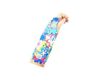 Fashionable Arm Cast Cover in Blue Happy Talk for Short Arm Cast