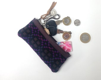 Welsh Tapestry Change Purse