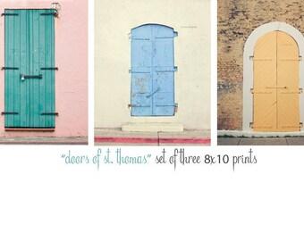 Door Photography, St. Thomas Art, Colorful Doors, St Thomas Photography, St Thomas Art, Door Photography, Doorway Art, Fine Art Photographyy