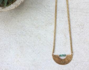 A R C necklace