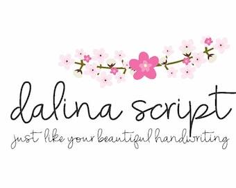 Dalina font