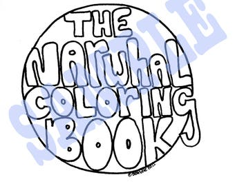 The Narwhal Coloring Book