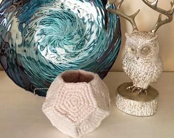 Crochet Pattern ~ Facets Organizer ~ Crochet Pattern