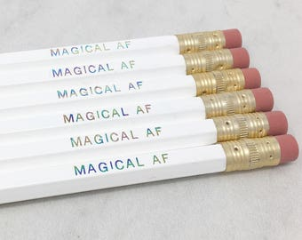 Magical AF Pencil Set