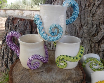 Jug/Mug Octopus tentacle