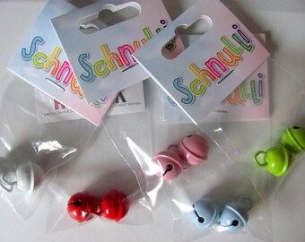 2 pieces of plaything bells/clips, Ø 15 mm. EN71