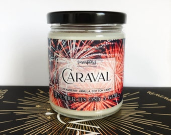 Caraval | Caraval Inspired 4oz. or 8oz. Scented Soy Candle