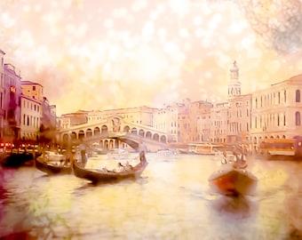 Italy Photography, Venice Photography, Rose Decor, Canal, Whimsical, Vintage, Gondola, GBK's 2013 Primetime Emmys Gift Lounge