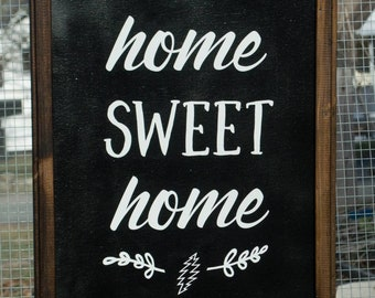 Home sweet home- 13 point bolt (outline)