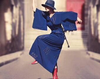 Kimono dress and bolero