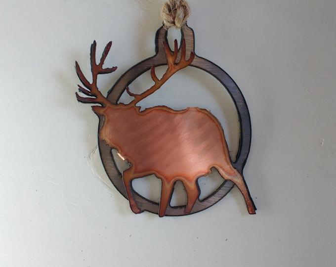 Bull Elk Ornament