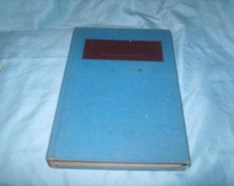 Vintage Book: Earth & High Heavon By Gwethalyn Graham, J B Lippincott Co., Copyright 1944, Sixth Impression