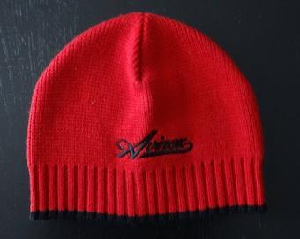 AVIREX red black cap one size