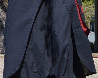 Samurai Pants  Elastic  Waist  with cool pockets