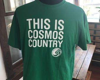New York Cosmos NY Soccer T shirt