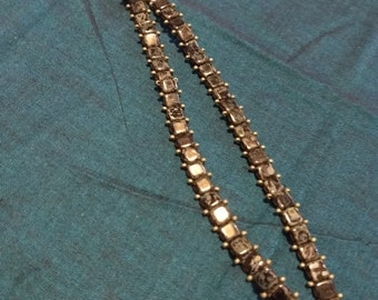 Glass Beads Woven Necklace