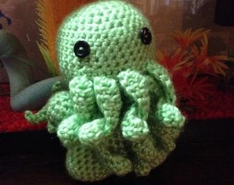 Cthulhu Crochet Toy - Amigurumi - Elder God - Lovecraft