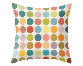 Geometric pillow Mid century pillow nordic pillow geometric cushion geometric throw pillow modern pillow modern cushion dots pillow