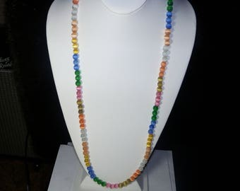 A Cute Cats Eye Beaded Necklace. (2017239)
