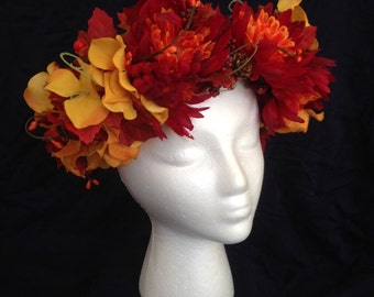 Harvest Queen Flower Crown