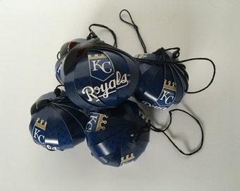 Kansas City Royals Ornaments: Single or Set of 5
