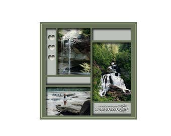 12x12 Digital Scrapbook Template (59)