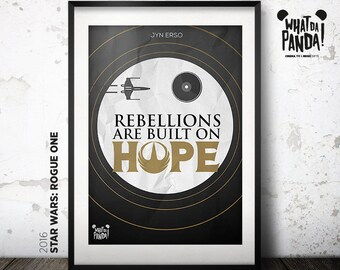 Rogue One - Rebellions are built on hope!