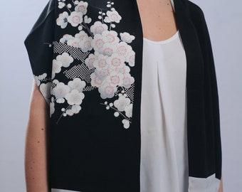 Japanese vintage Kimono Scarf original FREE Shipping Europe