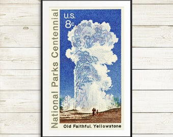 yellowstone national park posters, old faithful, national parks united states, yellowstone park, yellowstone old faithful, old faithful