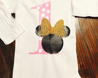 Minnie Mouse 1st Birthday   Girls First Birthday