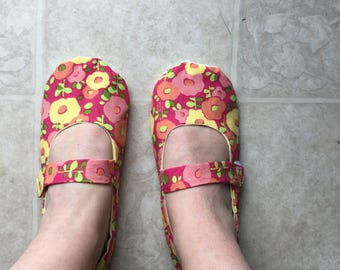 Mary Jane style slippers