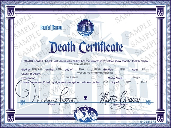 disney certificate template