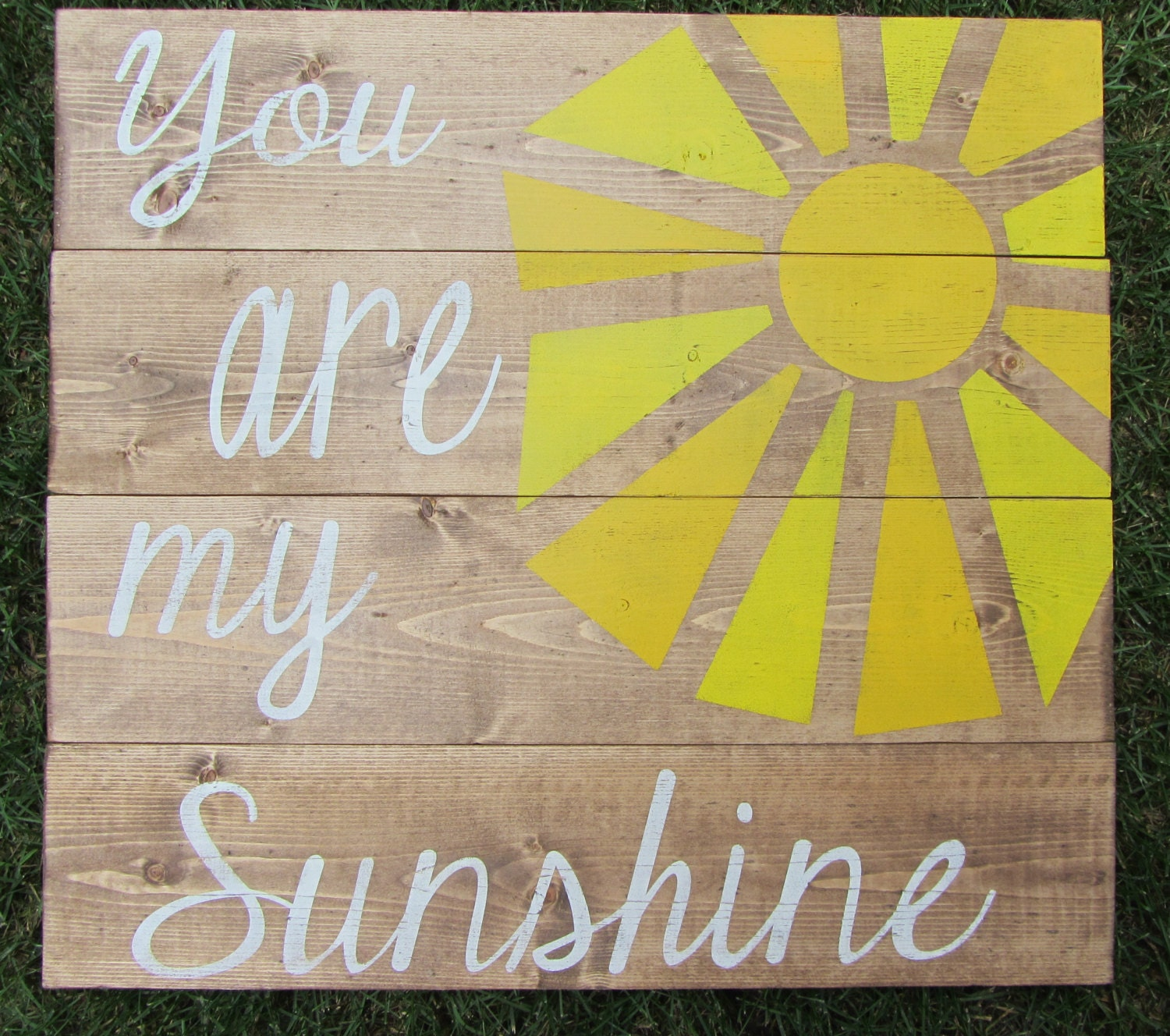 You Are My Sunshine Sign Rustic Country Sign Wall Decor
