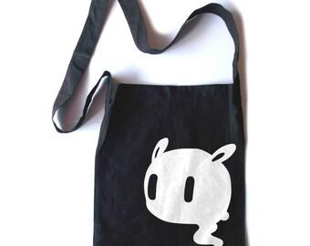 Pastel Goth Tote kawaii creepy cute tote bag halloween bag gothic lolita crossbody tote