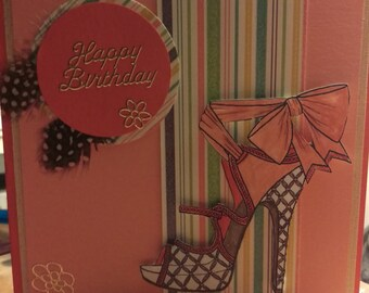Shoe Lover Birthday Card